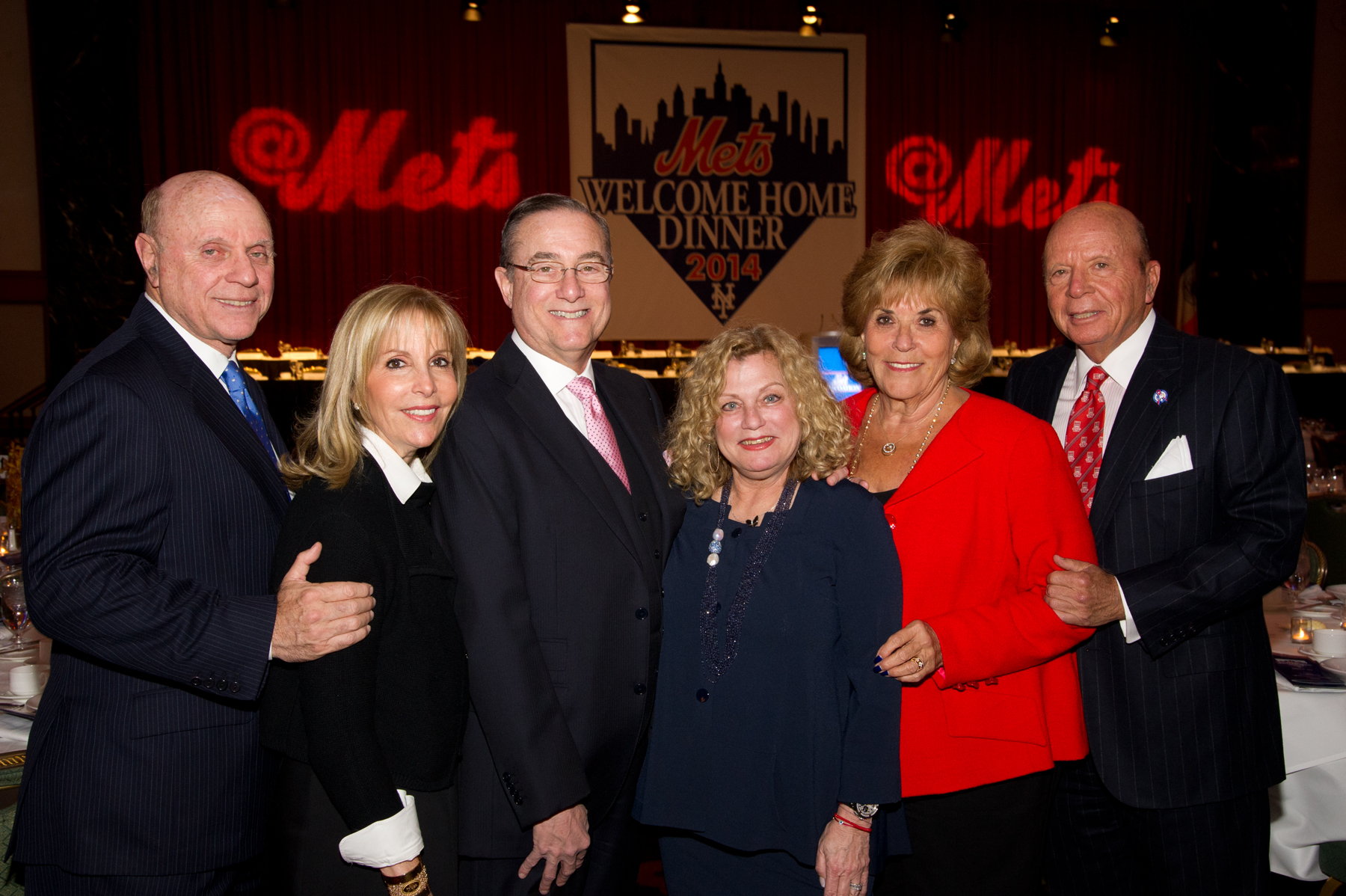 From left: Michael and Dayle Katz, Michael Ruth Slade, Iris and Saul Katz.