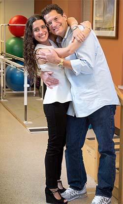Rory and Danielle Rosegarten