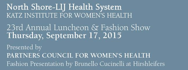 2015 Fall Luncheon & Fashion Show