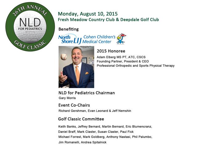 2015 NLD Golf Classic