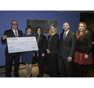 Astoria Bank Donates in Support of Tourette Center of Excellence