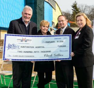 Clark Gillies Donates to Huntington Hospital Pediatric Emergency Department