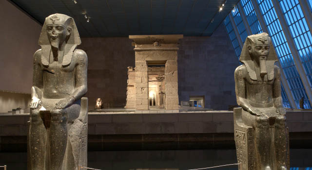 The Temple of Dendur.  The Metropolitan Museum of Art, Given to the United States by Egypt in 1965, awarded to The Metropolitan Museum of Art in 1967, and installed in The Sackler Wing in 1978
