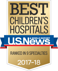 Best children's hospitals 2017-18