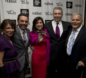 From left:  Donna Mazzei, Jamie Mazzei, Christine Sardo, Dr. Ernesto Molmenti and Michael Mazzei
